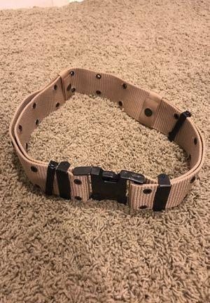 Tan utility belt for Sale in Haymarket, VA