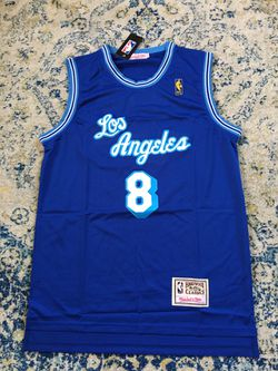 Los Angeles Lakers Jersey Kobe Bryant Retro Vintage RARE BLUE ...