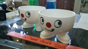 Vintage Arcopal France Smiley Bowls for Sale in Montgomery Village, MD