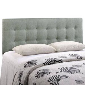 Monday Emily Tufted Button Headboard- Grey for Sale in Silver Spring, MD