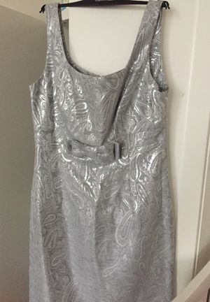 Silver party Dress for Sale in Chantilly, VA