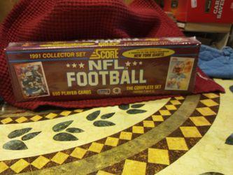 1991 NFL FOOTBALL CARDS Thumbnail