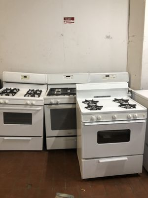 Photo Used Gas stoves starting at $150/ estufas gas comenzando en 150