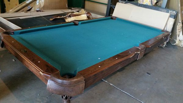 Brand New Pool Table Some Cosmetic Damage And Also No Legs For Sale - Brand new pool table