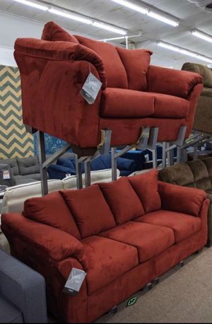 Photo Brand 🆕️ in the Box - $39 DOWN SPECIAL] Darcy Salsa Living Room Set 599