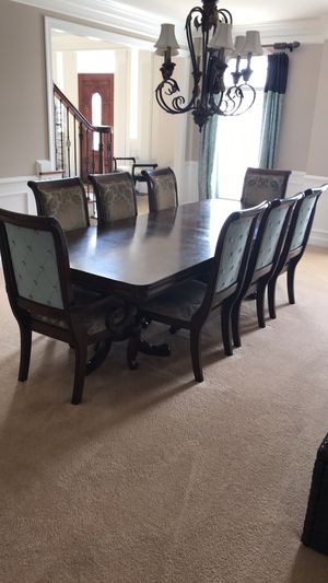 8 person dining table set for Sale in Laurel, MD