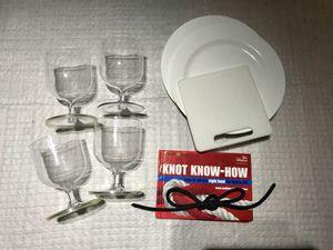 Boating - non slip wine glasses, etc for Sale in Seattle, WA