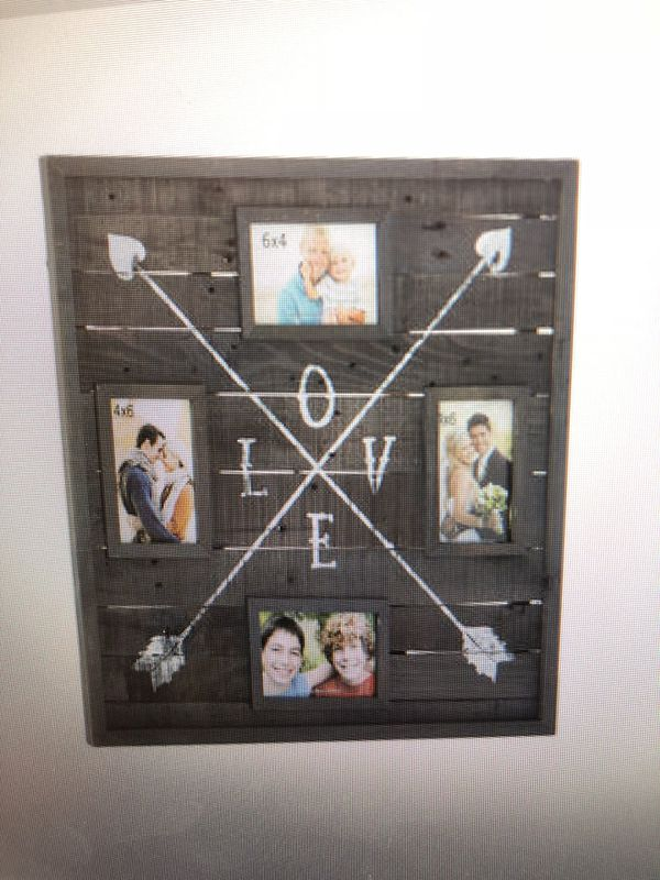 Love arrows wood collage frame (Household) in Plantation, FL - OfferUp
