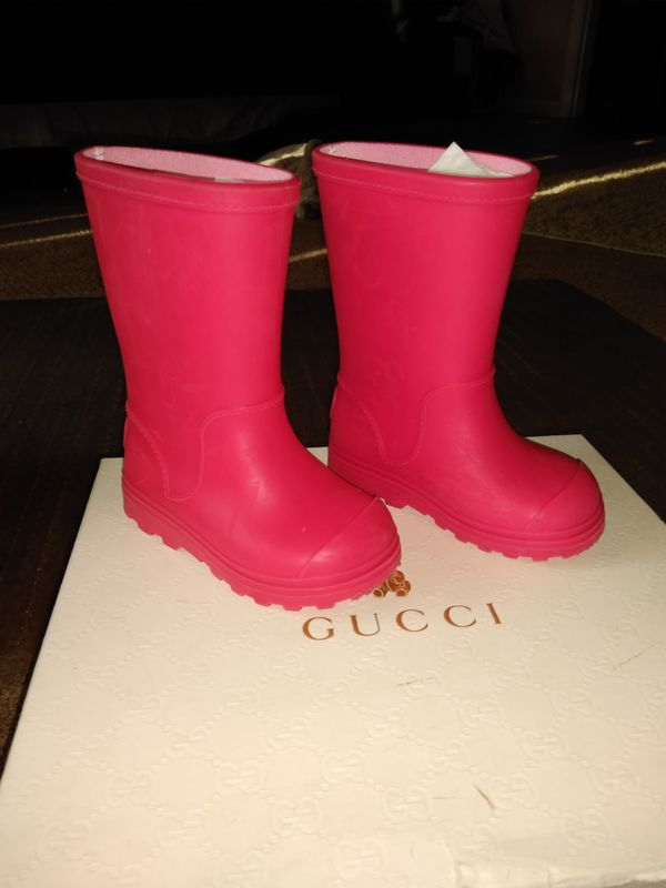 8502a03756a Gucci rain boots for Sale in Oakland