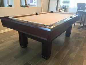 Brunswick Gold Crown Pool Table Billiards Table For Sale In - Brunswick 7 foot pool table