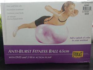 Anti-burst fitness ball 65cm for Sale in Salt Lake City, UT