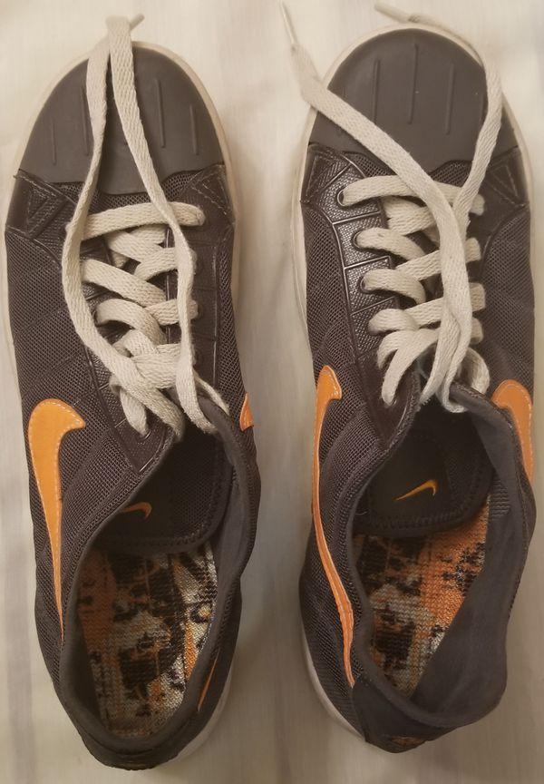 160f4a8c324e 1 7 Nike ACG Soaker Water Shoes 315839-401 Grey Orange Sticky Rubber Men s  Sz 8.5