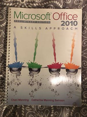Microsoft office 2010 Book for sale! for Sale in Houston, TX