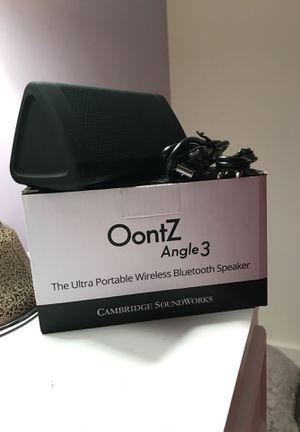 Oontz Bluetooth Speaker for Sale in Nashville, TN