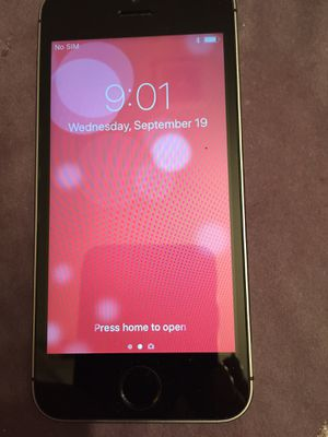 iPhone 5s unlocked for Verizon for Sale in Puyallup, WA