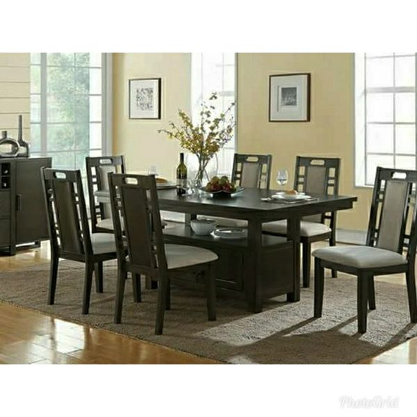 BRAND NEW 7PC DINING TABLE SET SPECIAL FURNITURE BY USA For Sale In Ontario CA