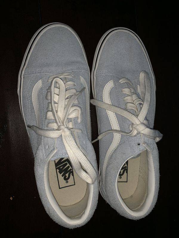 d65cad6c12 VANS OLD SKOOL BABY BLUE   mens size 8   for Sale in Riverside
