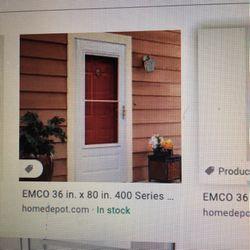 Emco Storm Door 32x80 400 Series NEW In BOX Thumbnail