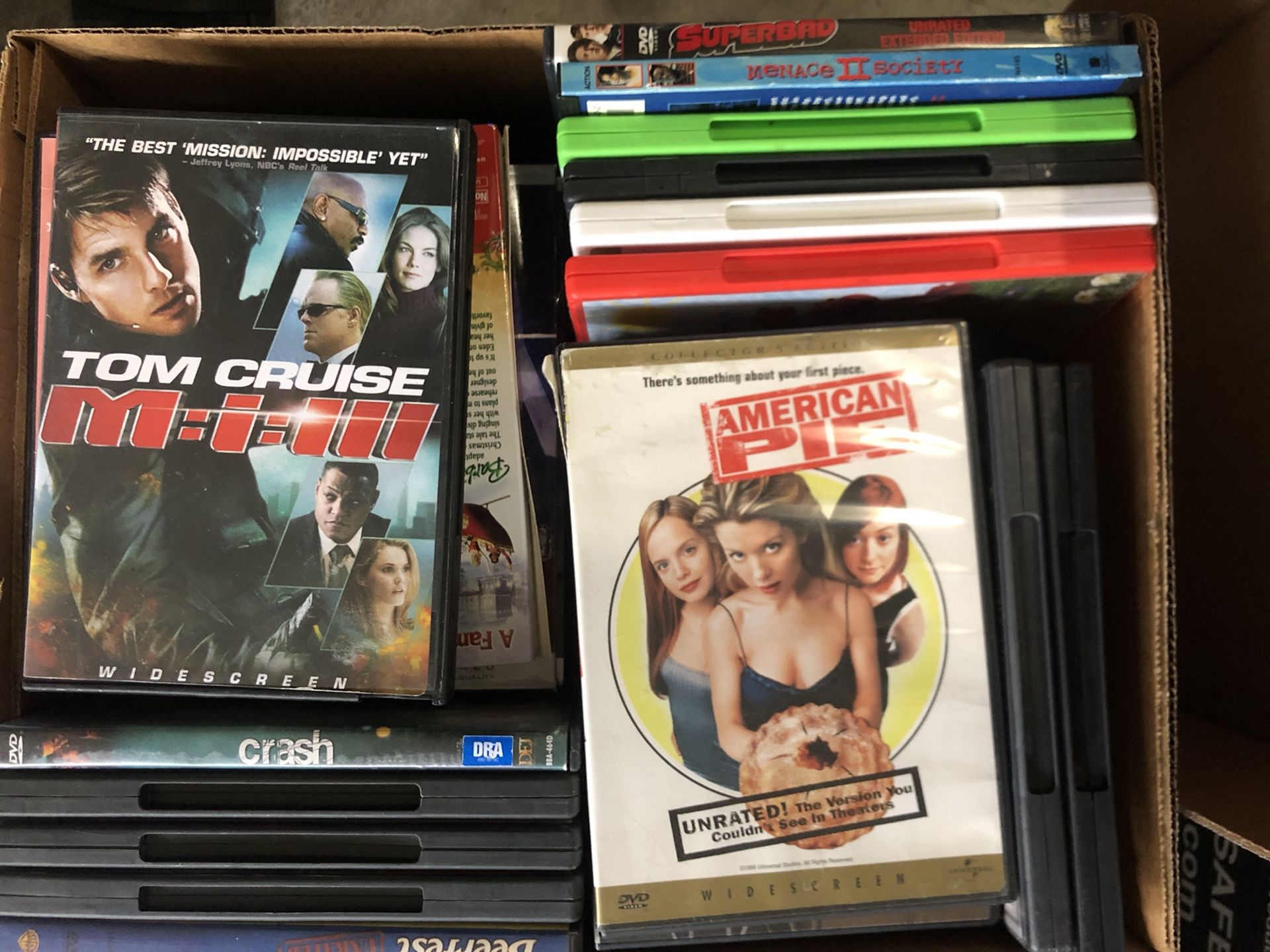 DVDs for sale (individual dvds)