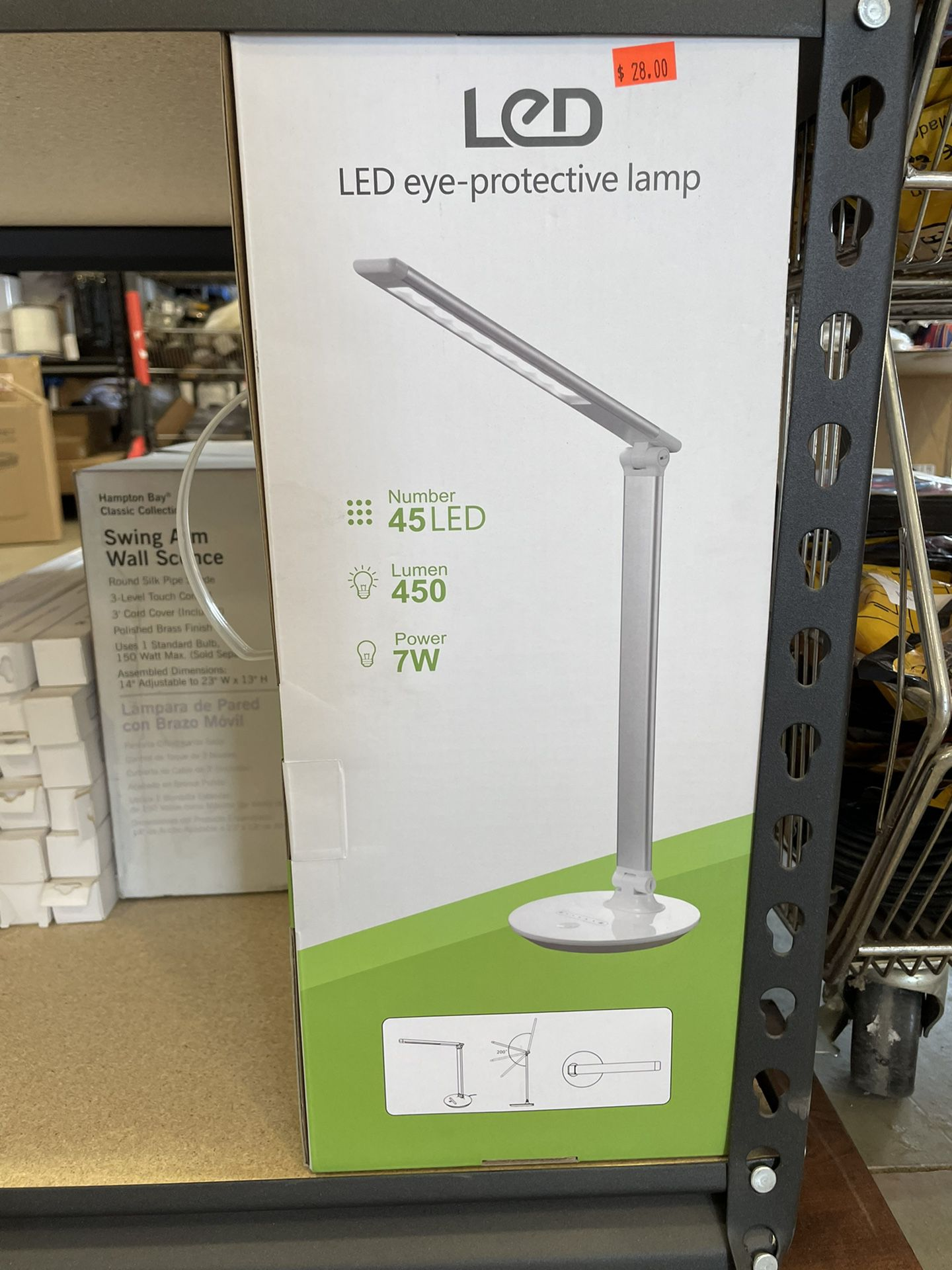 LES Eye protective Lamp $28