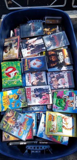 100+ Bucket of Dvd's for Sale in Washington, DC