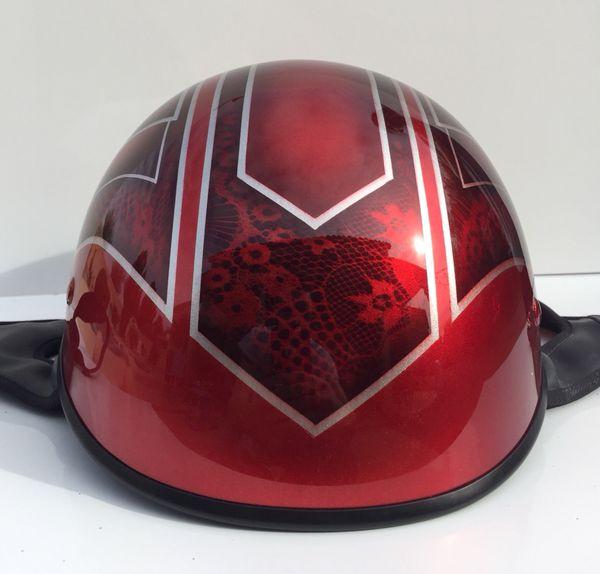 Custom Painted Motorcycle Half Helmet For Sale In Gilbert Az Offerup