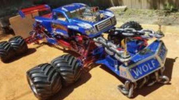 1 5 Scale Fully Fully Upgraded Monster Pulling Monster Truck Real Rc