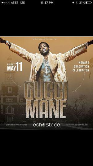Gucci Mane Live for Sale in Washington, DC