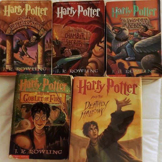Harry Potter Book Set 1 - 7