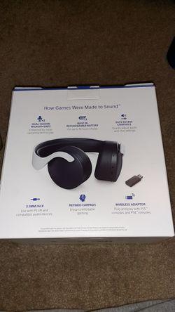 Sony PS5 3D Pulse Headsets Thumbnail