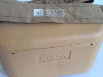 Nikon Camera Case With Carhart Camera Strap Made Japan Thumbnail