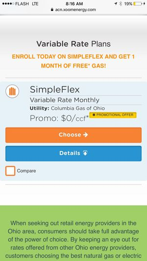 Who wants a free gas bill !! for Sale in Columbus, OH