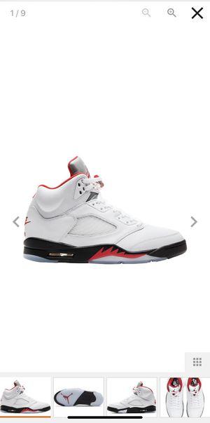 """Photo Air Jordan 5 Retro """"Fire Red"""""""