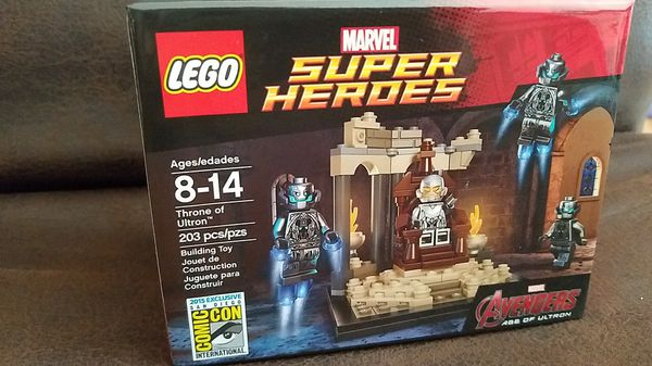 Sale In For 2015 VistaCa Lego Offerup Ultron Chula Of Sdcc Exclusive Marvel Avengers Throne kiuXZwOPT