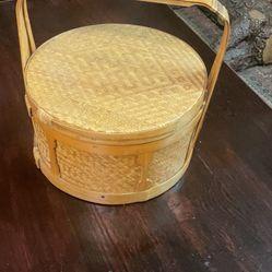 Wicker Rattan Basket Pick Up La Mesa  Thumbnail