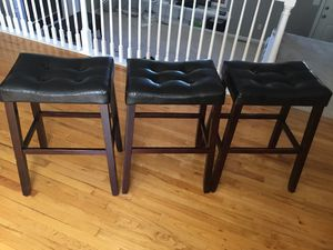 3 Saddle chairs for Sale in Purcellville, VA
