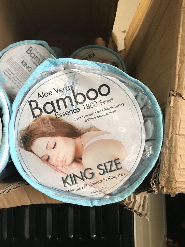 Aloe Vera Bamboo Sheet Set For Sale In Sebring Fl Offerup