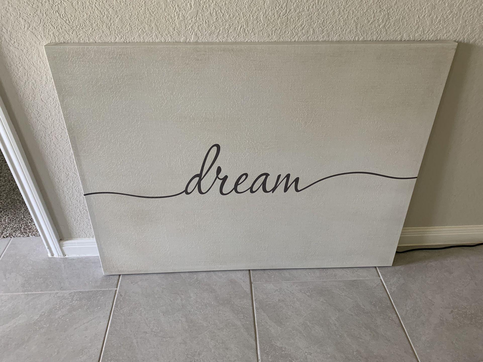 Dream Canvas Wall Art