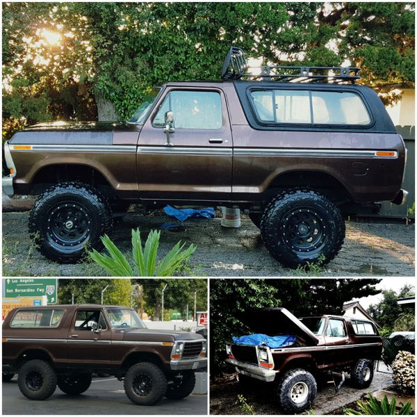 1978 Ford Bronco Trailer Special For Sale In West Covina