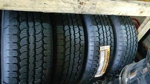 four bright new set of tires for sale 255/70/17 for Sale in Washington, DC
