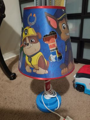 Paw Patrol Kids Lamp for Sale in Greenbelt, MD