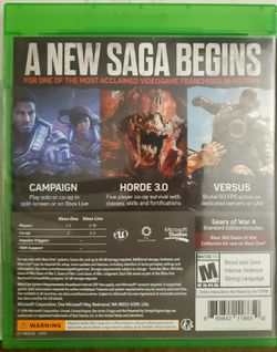 Gears of War 4 (Xbox One) Thumbnail