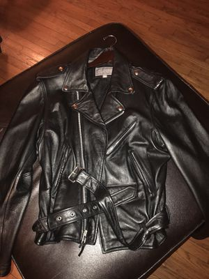 Wilson mens leather jacket for Sale in Fort Washington, MD