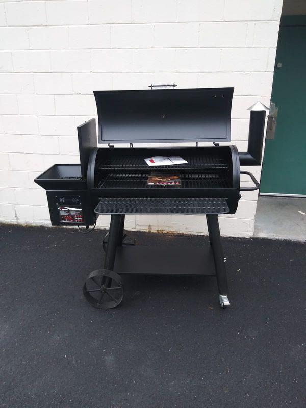 Outdoor Gourmet Grill Smoker