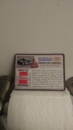 1991 Dale Earnhardt (Metal NASCAR Card) Thumbnail