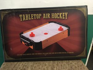 MINI AIR HOCKEY TABLE TOP GAME for Sale in Long Beach, CA