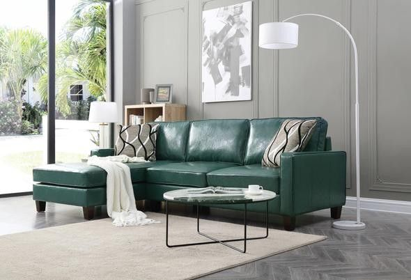 Glenbrook Turquoise Sectional