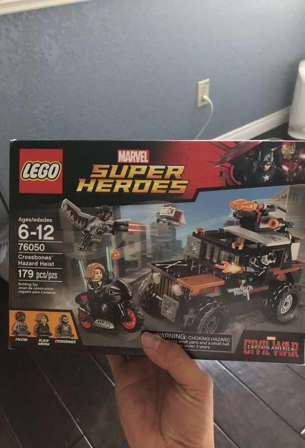 For Offerup Sale Lego Marvel Hazard In Crossbones WalnutCa 76050 Heist 0OknwP