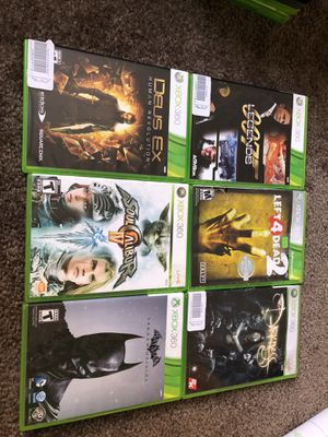 Xbox 360 games for Sale in Pittsburgh, PA