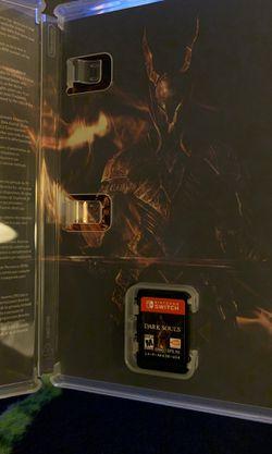 Dark souls switch game Thumbnail